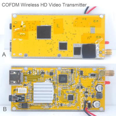 COFDM cvbs analog input transmitter