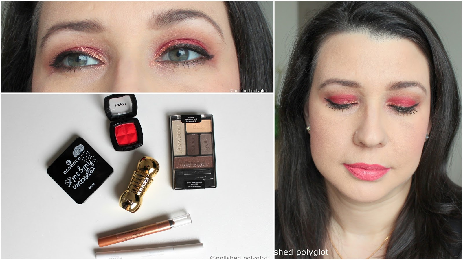 Fashion style How to eyeshadow red wear for girls