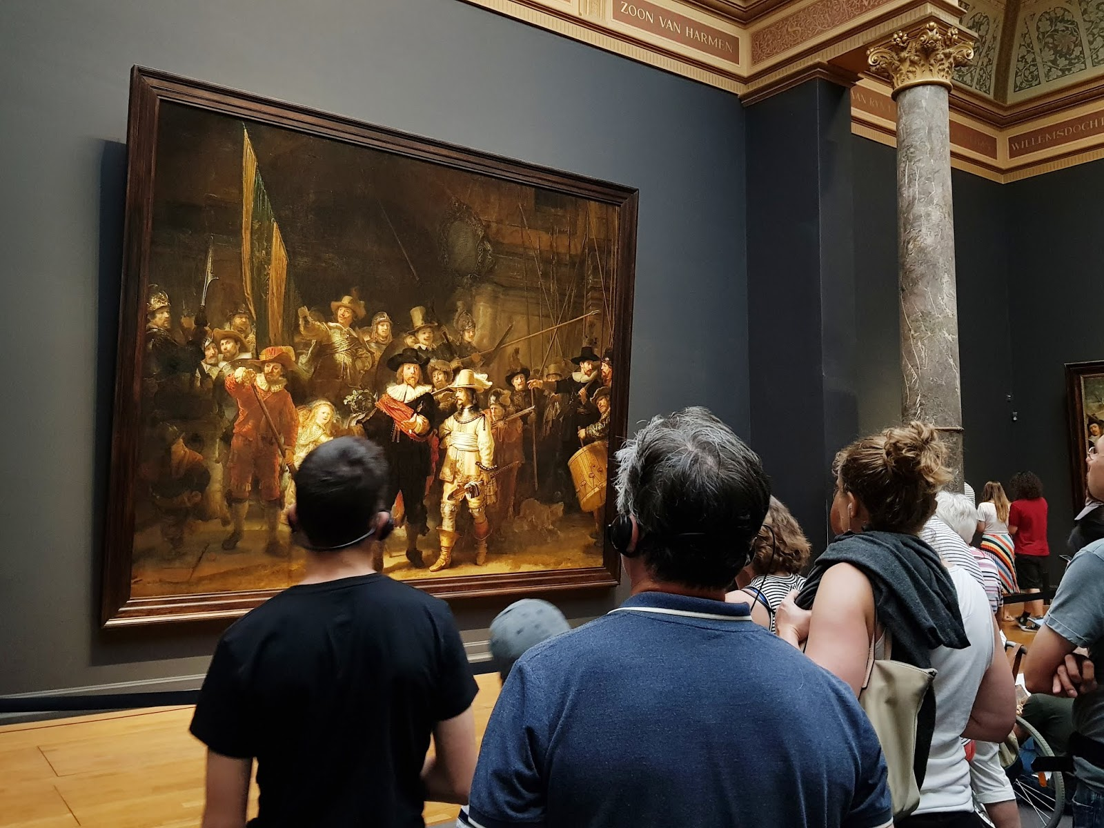 exploring amsterdam attractions sightseeing rijksmuseum Rembrandt night watch museum