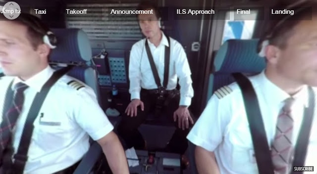 Sensasi Merasakan Berada Di Cockpit Air Bus A380