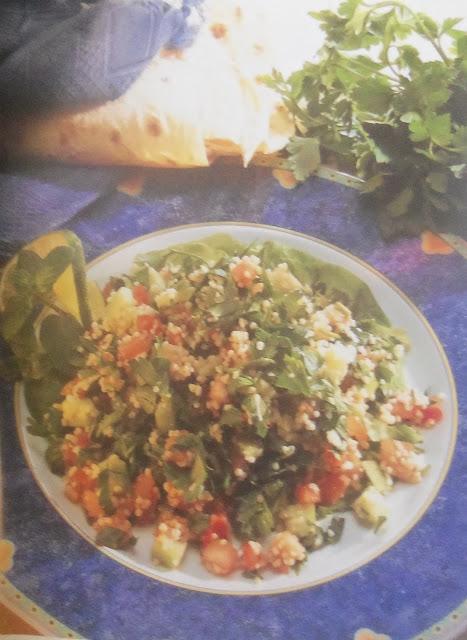 Chapati veggies