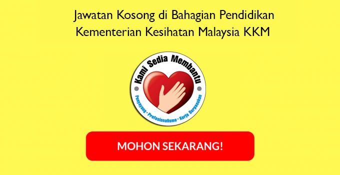 Jawatan Kosong di Bahagian Pendidikan Kesihatan KKM