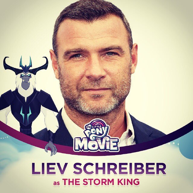 Liev Schreiber as The Storm King My Little pony Movie