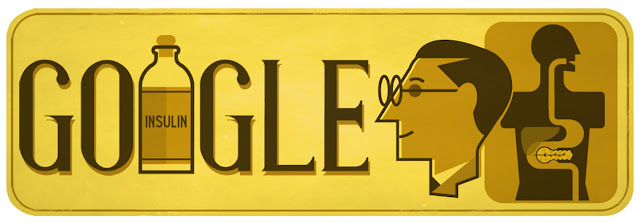 Sir Frederick Banting's 125th Birthday: Google Doodle