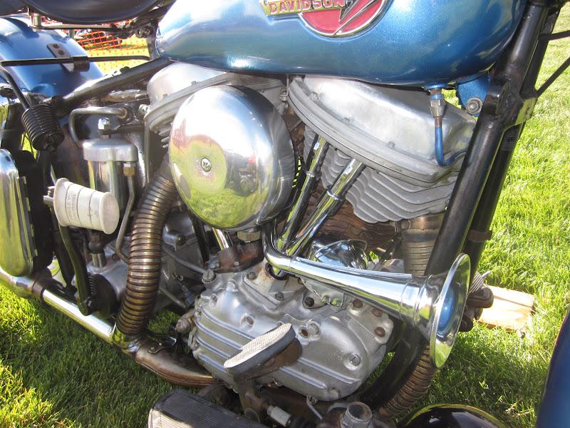 1970 Harley Davidson Evel Knievel Tribute: OldMotoDude: 1964 Harley Davidson Duo Glide At The 2012
