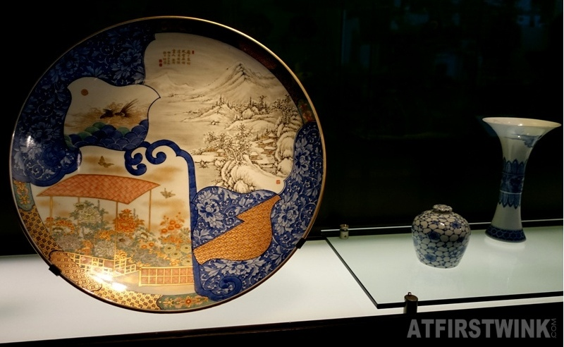 Museum Volkenkunde Leiden Japan and Korea plate painted