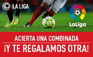 Promocion sportium 25 euros combinada Liga 16-19 septiembre