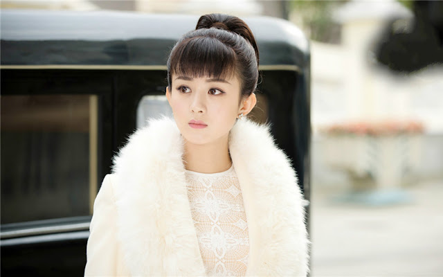 Zanilia Zhao Li Ying in 2016 popular cdrama Old Nine Gates