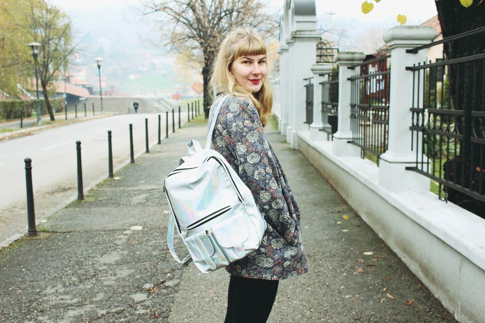 filipa canic, youarethepoet, you are the poet blog, filipa canic blog, dresslily review, backpack,