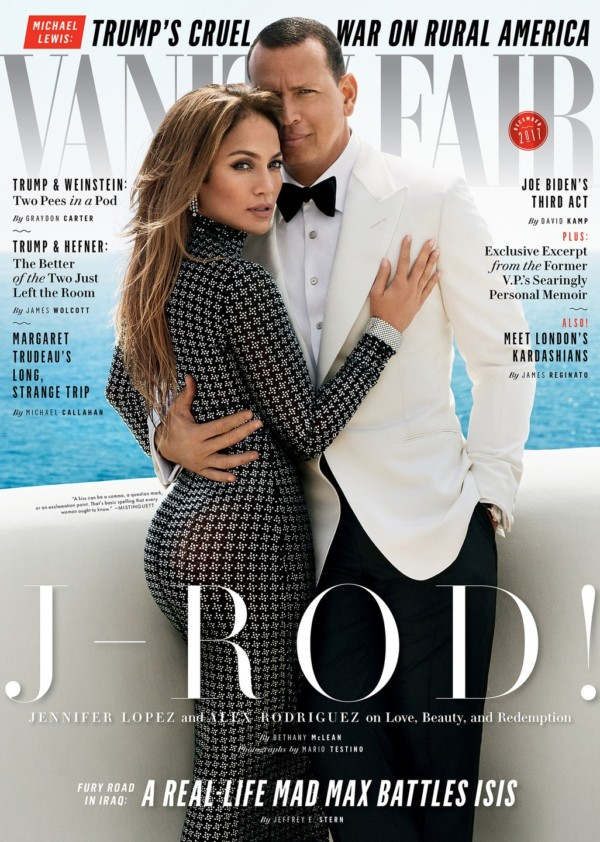 Jennifer Lopez & Alex Rodriguez are so in love in their cover story for Vanity Fair