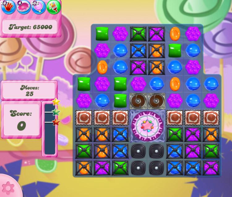 Candy Crush Saga level 2753