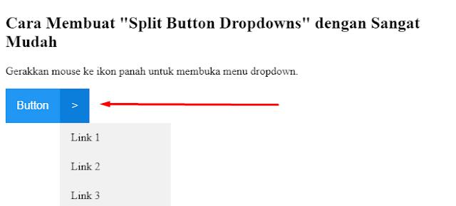 """Cara Membuat """"Split Button Dropdowns"""" dengan Sangat Mudah"""