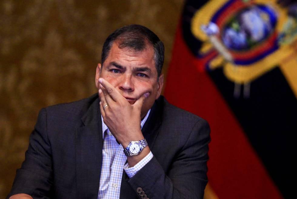 Analistas consideran que Correa se convierte en el principal opositor con un alto caudal de votos / EL PAÍS