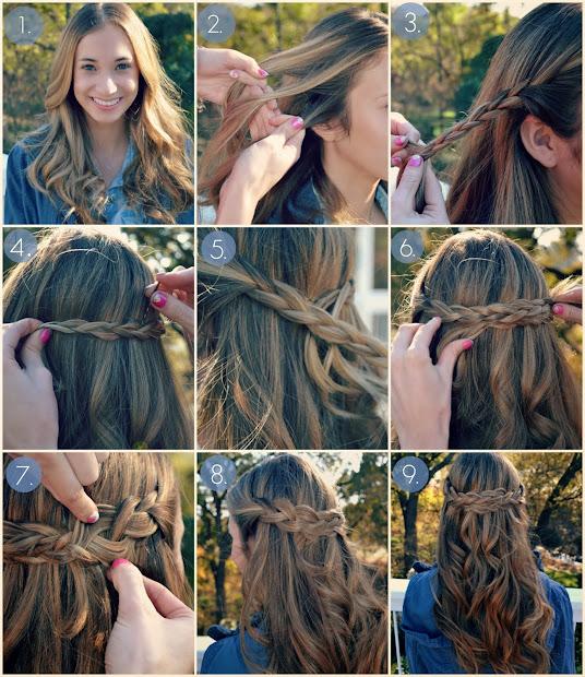 lifetime of rain hair tutorial
