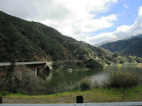 San Gabriel Canyon East Fork and San Gabriel Reservoir, Angeles National Forest