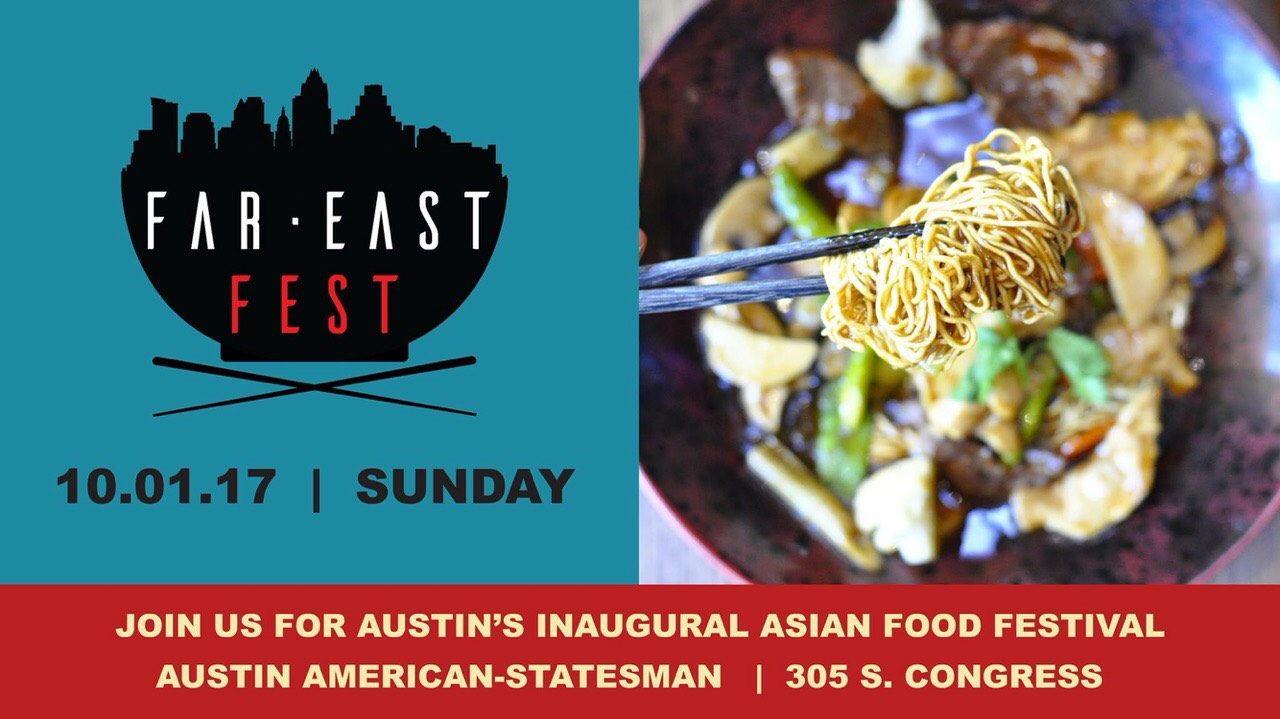 Announcing Far East Fest Asian Food Festival | Sushi in the ATX