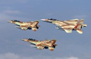 37 ισραηλινά αεροσκάφη (μαχητικά, τάνκερ, EW) σε νυχτερινή πρόβα πολέμου...
