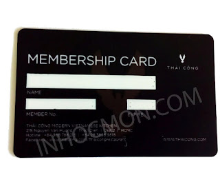 thẻ nhựa membership