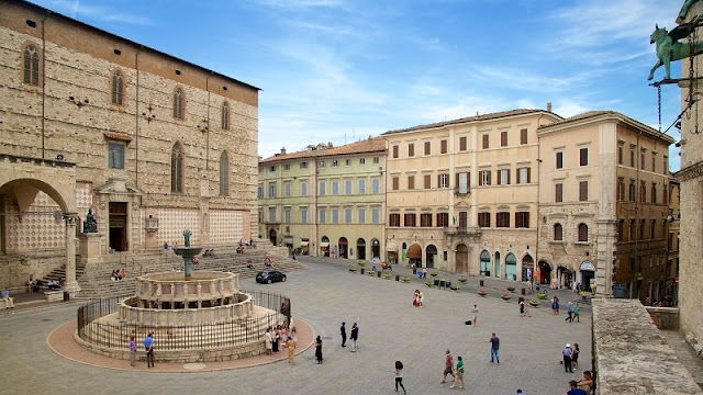 Piazza IV Novembre em Perugia