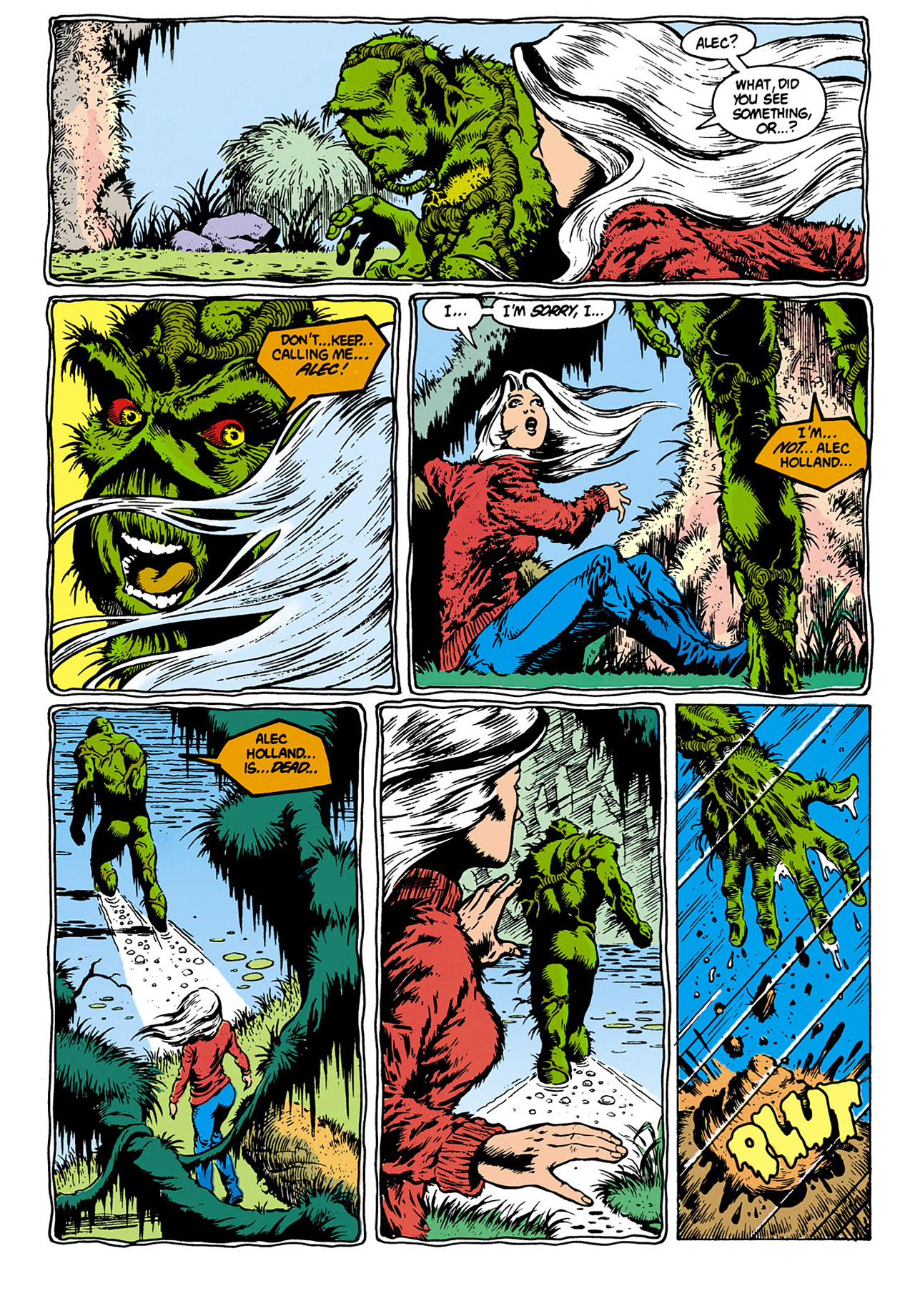 Swamp Thing (1982) Issue #28 #36 - English 6