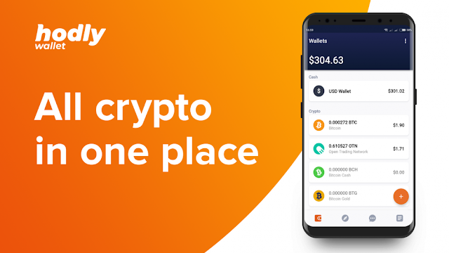 Hodly Review: Ultimate Crypto Wallet buy, keep and, sell crypto