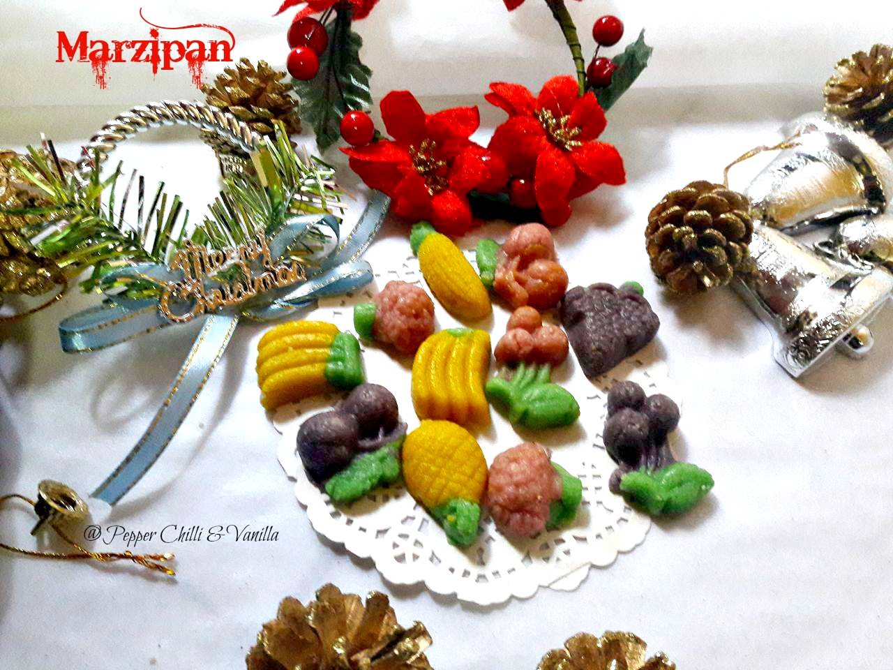 christmas  sweet marzipan