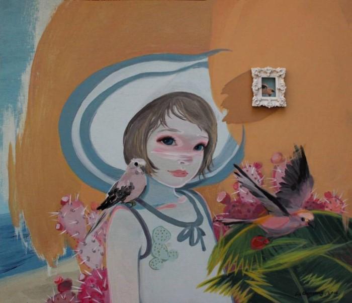 Китайский художник. Liu Chenyang