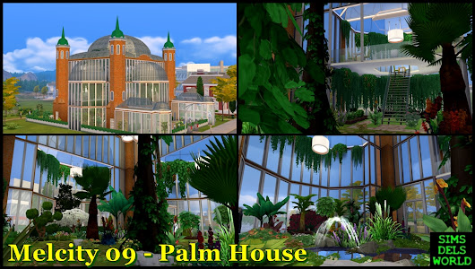 The Sims 4 : Melcity 09 - Palm House