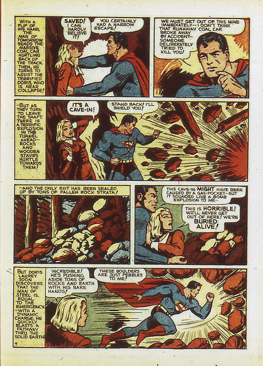 Read online Action Comics (1938) comic -  Issue #34 - 10