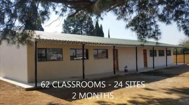 ABT classrooms for Gauteng education department