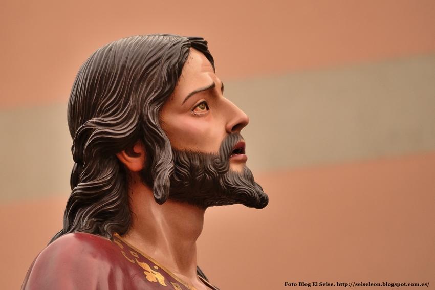 Oranión en el Huerto. Cofradía Cristo del Gran Poder. Foto G. Marquez. León