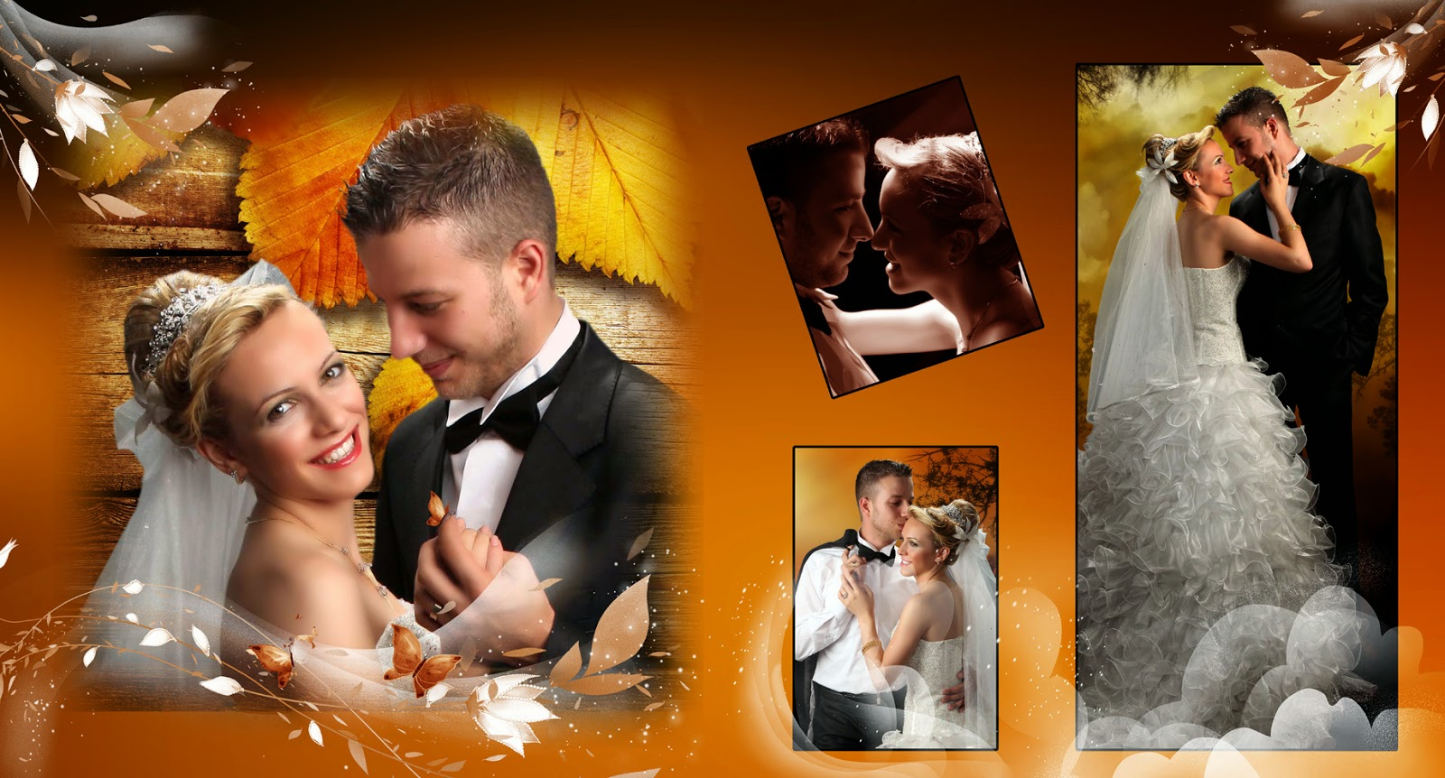Template Psd casamento photoshop