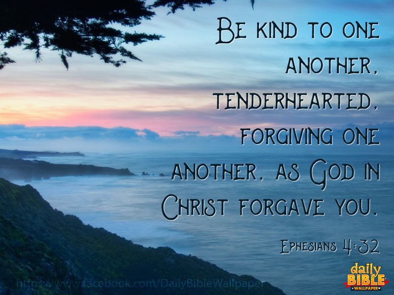 Download Free Encouragement Wallpaper Quotes Be Kind To One Another Daily Bible Wallpaper Free