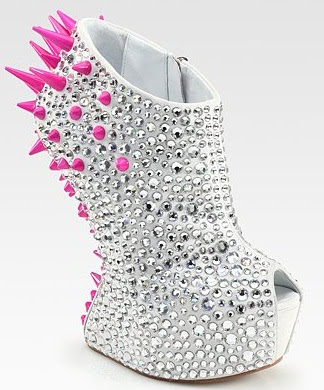 Spiked High Heel Shoes Uk