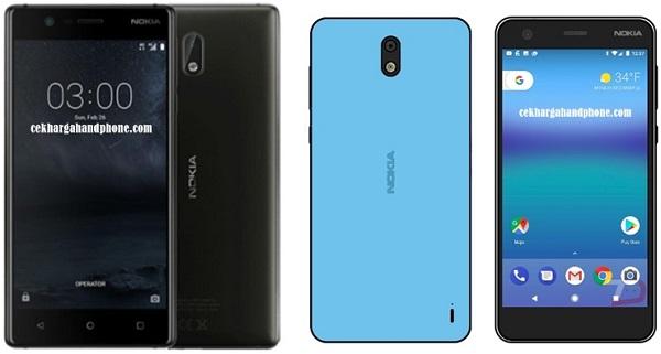 Desain dan Spesifikasi Handphone Terbaru Nokia 2