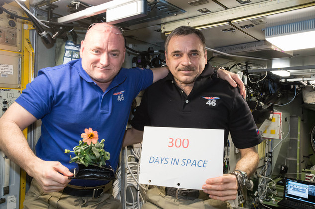FINALLY RETURNING HOME AFTER SPENDING 340 DAYS IN SPACE