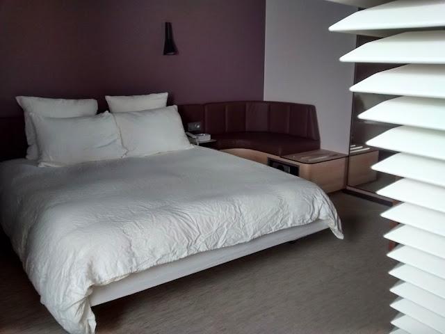 Quarto do Okko Hotel. Muito confortável! - Nantes - França