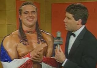 WWF / WWE - Summerslam 1992: The British Bulldog defeated Bret Hart for the intercontinental title