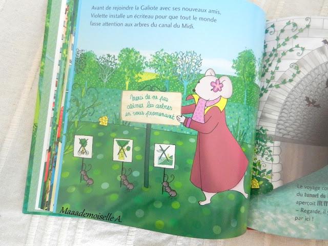 || Une aventure de Violette Mirgue : Le trésor du canal du Midi + Concours ! (Présentation & Avis)(Chut, les enfants lisent # 65)
