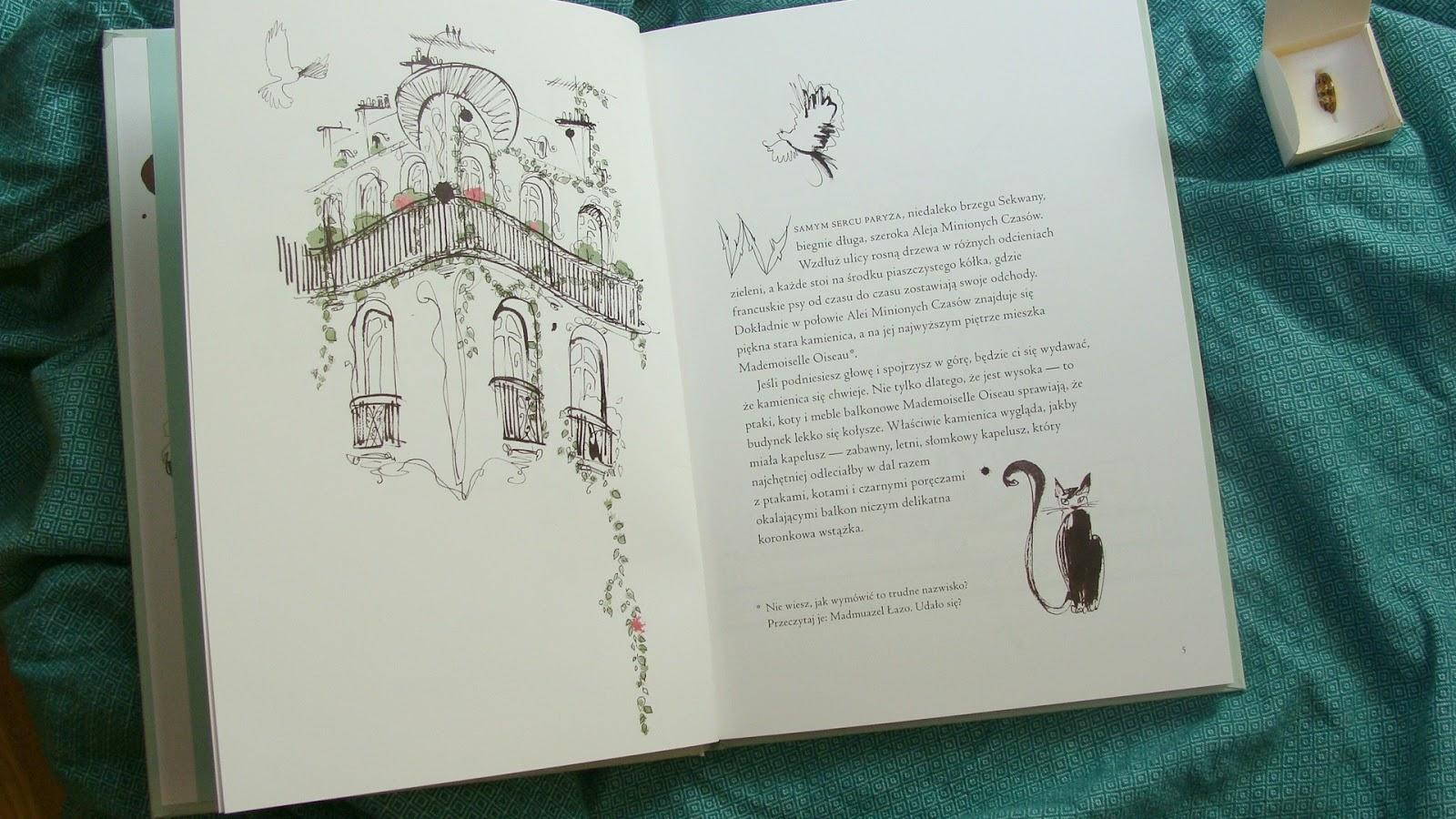 Historia Mademoiselle Oiseau, Kolor do Przytulania