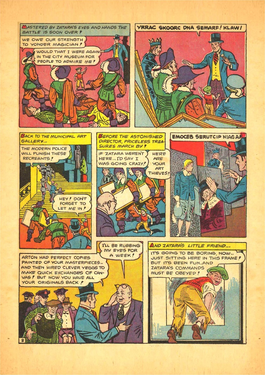 Read online Action Comics (1938) comic -  Issue #68 - 56
