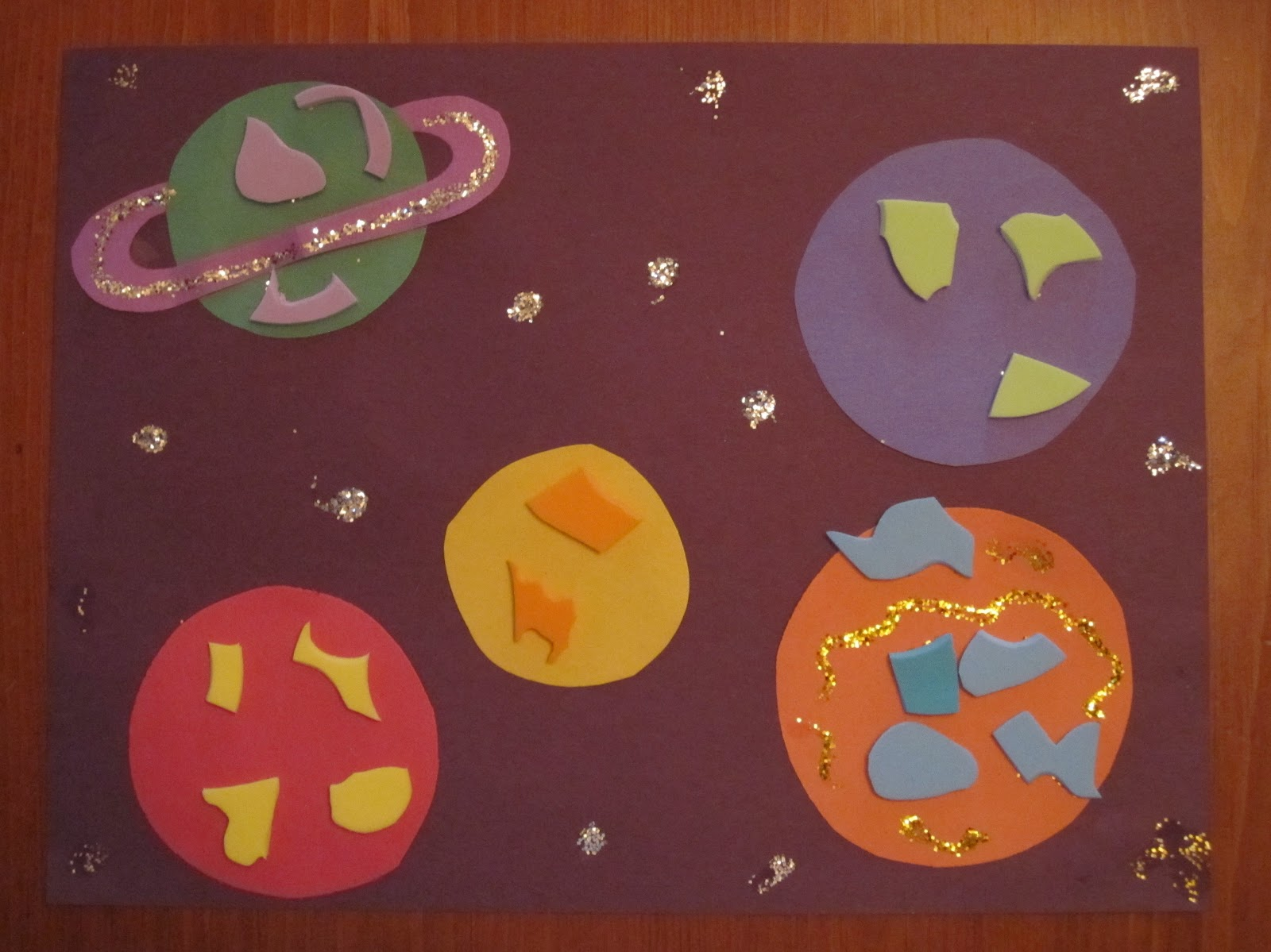 preschool planets art - photo #8