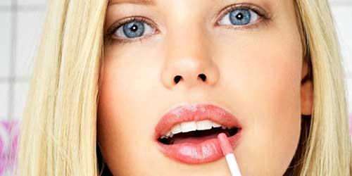 como maquillar labios gruesos
