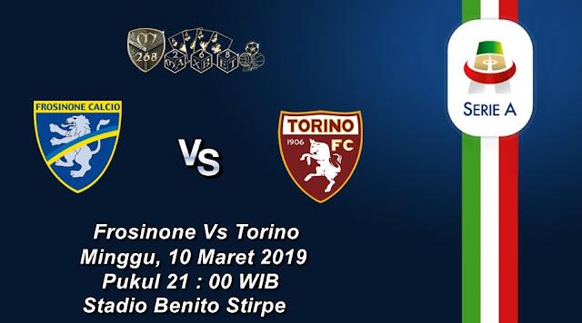 Prediksi Frosinone Vs Torino, Minggu 10 Maret 2019 Pukul 21.00 WIB
