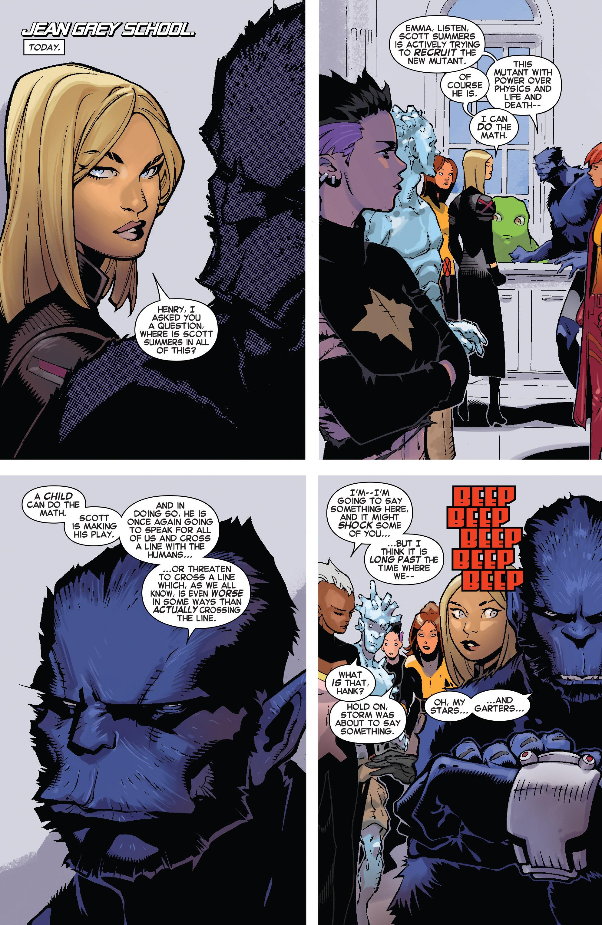 Read online Uncanny X-Men (2013) comic -  Issue #30 - 6