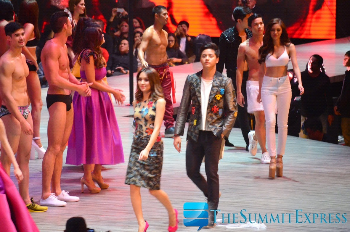 Teen King and Queen Daniel Padilla and Kathryn Bernardo (KathNiel) Bench The Naked Truth