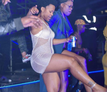 South African pantless dancer Zodwa Wabantu, 33, proposes to her 24-year-old boyfriend with