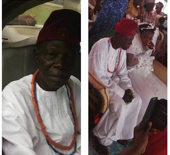 Check out 28-year-old Nigerian girl who got married to 78-year-old man in Kogi