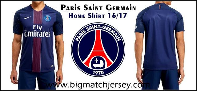 Nike Paris Saint Germain 2016-17 Home Shirt