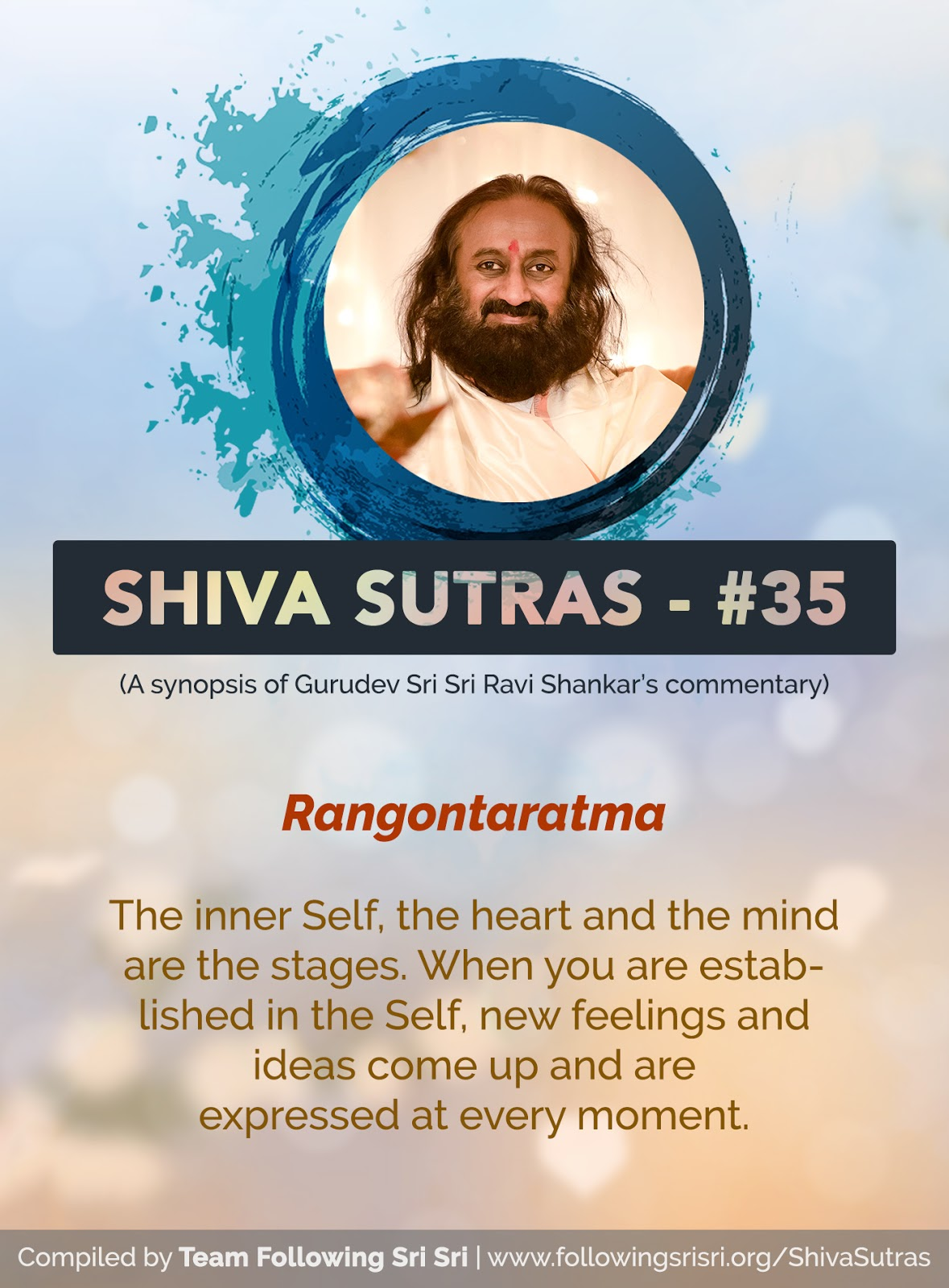 Shiva Sutras - Sutra 35